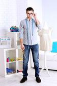 Man fashion designer — Stock Photo