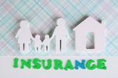Family life insurance  — Stock Photo