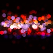 Abstract background with bokeh lights — Stock Photo