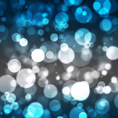 Festive abstract background with bokeh lights — Stock Photo