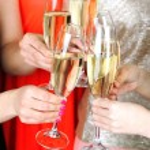 Girls have party celebration — ストック写真 #70604997