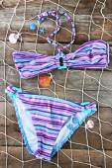 Sea still life with swimsuit — Fotografia Stock
