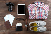 Set of trip stuff — Stock Photo