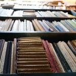 Many books on bookshelf in library — Stock Photo #70797035