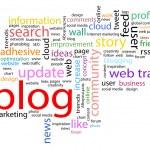 Word cloud. Blog concept — Stock Photo #70860105