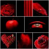 赤のカラー画像 — ストック写真
