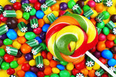 Colorful candies close-up — Stock Photo