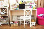 Beautiful comfortable seamstress workplace — Fotografia Stock