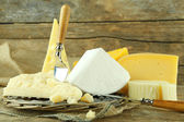 Different sort of cheese — Stock Photo
