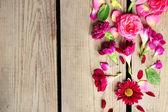 Resumen antecedentes con hermosas flores — Foto de Stock