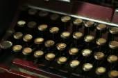 复古打字机特写 — 图库照片