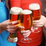 Beer in female hands — Stock Photo #72712293