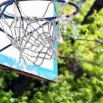 Basketball hoop close up — Stock Photo #72911515
