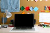 Working place of designer, close-up — Stock Photo