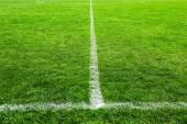 Football field stadium background — Stockfoto