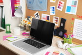 Working place of designer — Foto de Stock