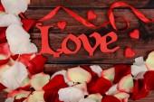 Krásné romantické pozadí — Stock fotografie