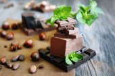 Set of spicy chocolate — Stock Photo