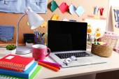Working place of designer — Stock Photo