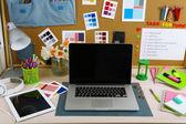 Pracovní místo návrháře — Stock fotografie