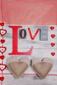 Beautiful romantic background — Stock Photo
