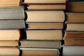 Pila de fondo libros — Foto de Stock