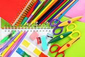 School stationery  background — Stock Photo