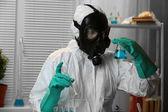 Chemist working in drug laboratory — Stock Photo