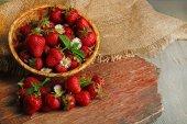 Red ripe strawberries — Stock Photo