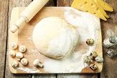 Food ingredients for pizza — Foto de Stock