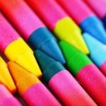 Colorful pastel crayons, closeup — Stock Photo #77015325