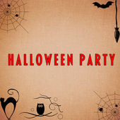 Halloween Party Background — Stock Photo