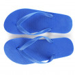 Blue beach shoes isolated on white — Stock Photo #77563616
