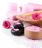 Beautiful composition of spa treatment — Stock Photo