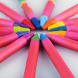 Colorful pastel crayons — Stock Photo #79062358