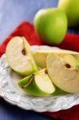 Sztuk zielone jabłko — Zdjęcie stockowe