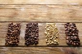 Different Coffee beans — Stock Photo