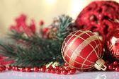 Krásné vánoční koule — Stock fotografie