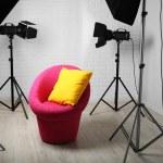Photo studio with modern interior — Stock Photo #80276012