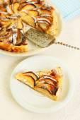 Homemade apple pie — Stock Photo