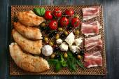 Ingredients of Mediterranean cuisine — Stock Photo