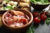 Ingredients of Mediterranean cuisine — Stock Photo