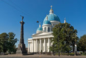 Trinity Cathedral in Saint Petersburg — Stock Photo