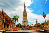 Phra That Phanom chedi, Nakorn Phanom,Thailand — Stock Photo