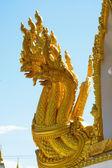 Wat phrathat nong bua italiaanse provincie ubon ratchathani, thailand — Stockfoto