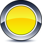 Shiny button with design for website. — Stock Photo