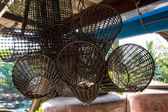 Traditional Fish Trap in Thailand — Stock Photo