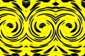 Yellow black background — Stock Photo