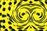 Yellow black background — Stockfoto