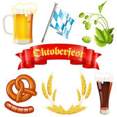 Oktoberfest Icon — Stock Vector